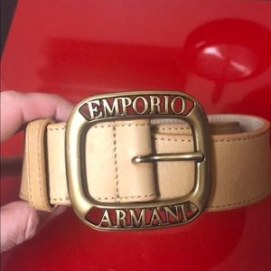 Genuine Emporio Armani belt, size 46